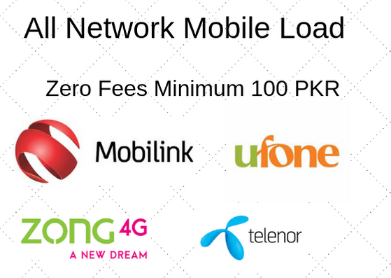 Payeer to Telenor Load, Zong